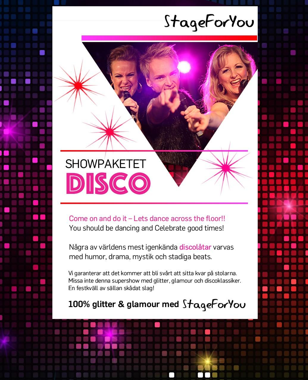 Showpaket Disco